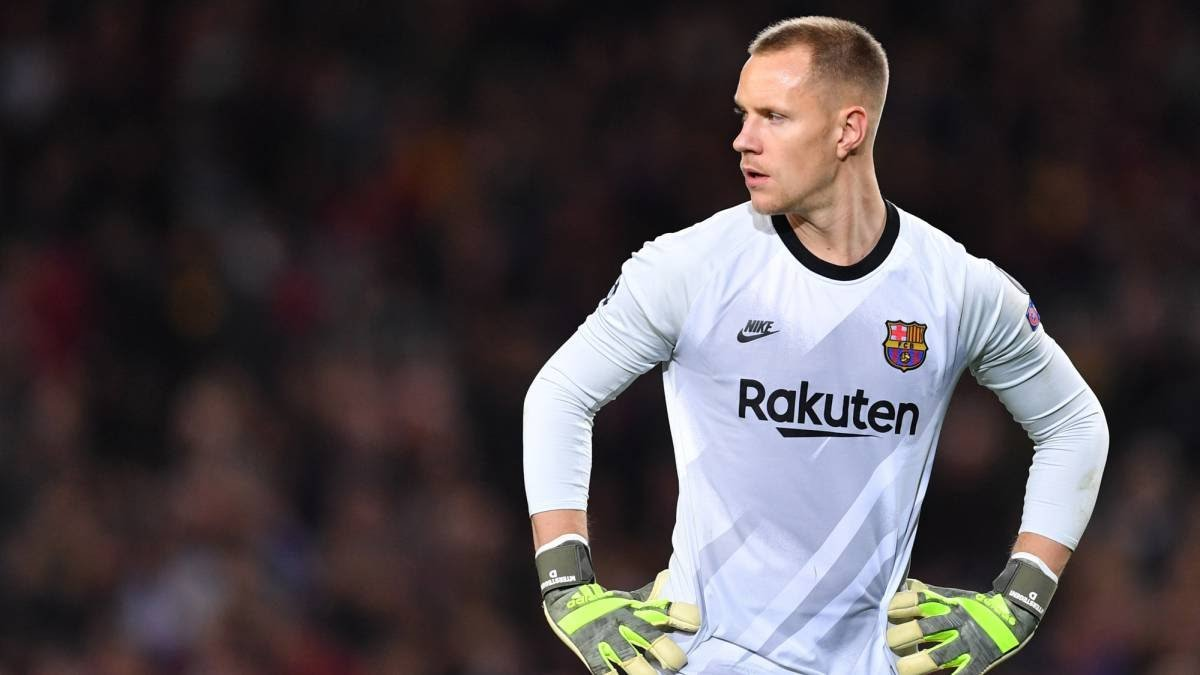 Barcelona's Ter Stegen To Be Out For A Month Over Injury