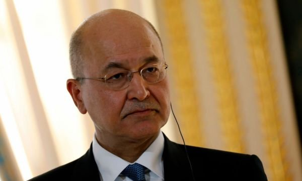 Iraq's President, Barham Saleh Denounces Missile Strikes By Iran