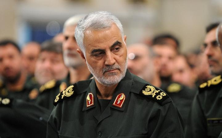 'Death To America' Chants Heard During Soleimani's Burial