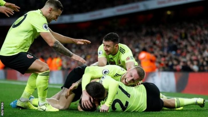 VIDEO: Arsenal 1 – 1 Sheffield United — EPL Highlight