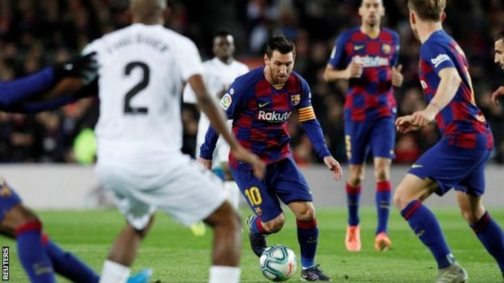 Barcelona 1 – 0 Granada La Liga Highlight Mp4 Download