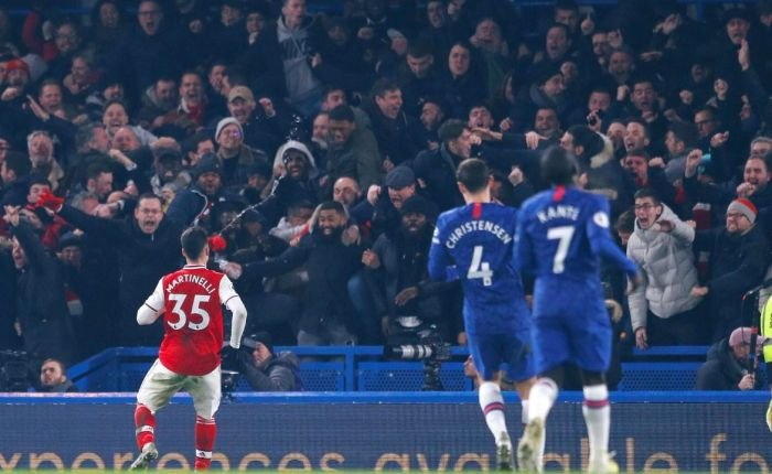 Chelsea 2 – 2 Arsenal