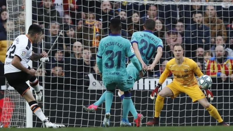 VIDEO: Valencia 2 – 0 Barcelona — La Liga Highlight