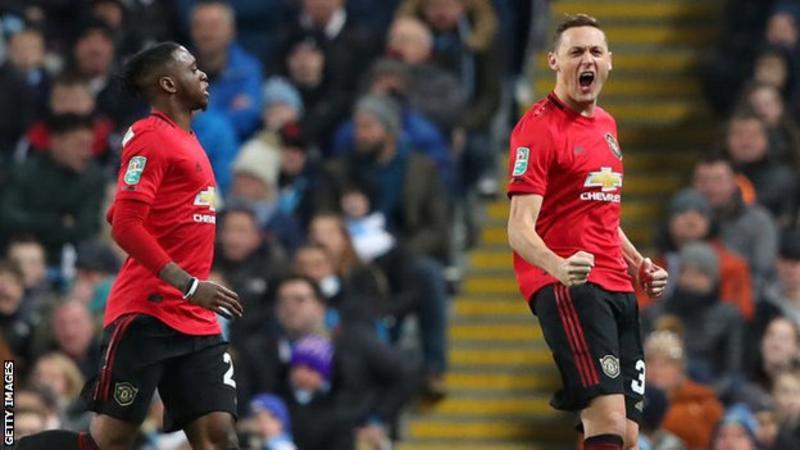 Man City 0 – 1 Man United Carabao Cup Highlight Mp4 Download