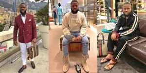 Hushpuppi Reacts To Sanusi's Dethronement As Emir of Kano