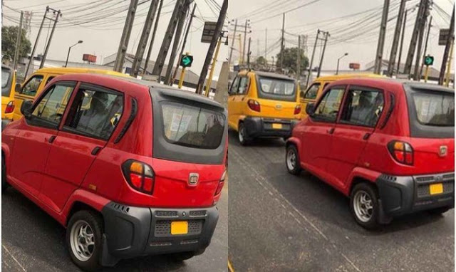 Small Cars Lagos State Government Used To Replace Keke Napep (Photos)