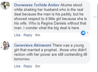 NAWA O! Nigeria's Minister for Special Duties George Akume bowed to actress Regina Daniels (Photo) 12
