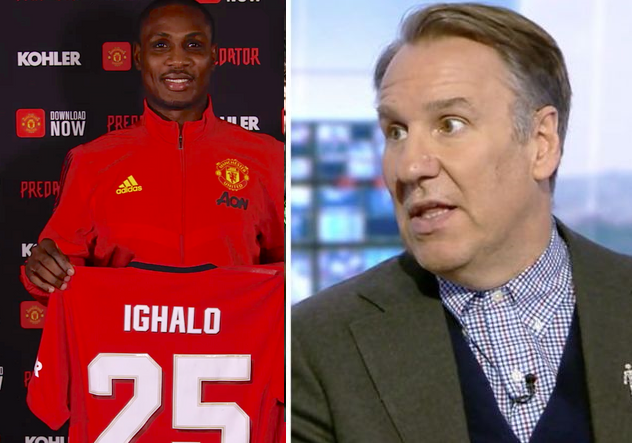 Odion Ighalo's Poor Performance At Man Utd Could Lead To Ole Gunnar Solskjaer's Sacking — Pundit, Paul Merson