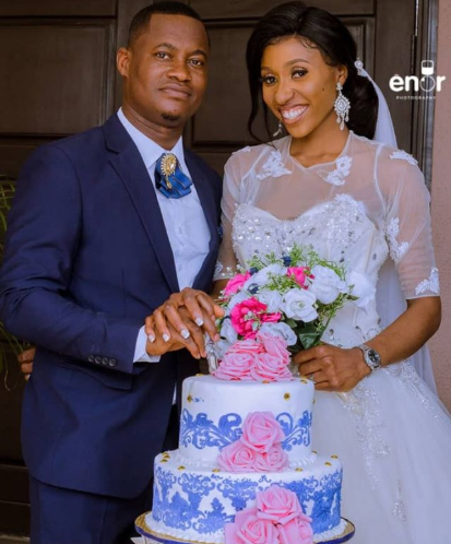 Couple held their wedding in Lagos without having a reception