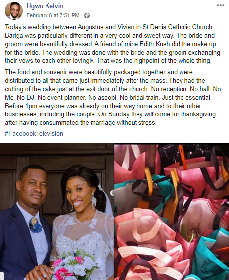 Meet Couple Who Held Their Wedding In Lagos Without Having A Reception (Photos) 5