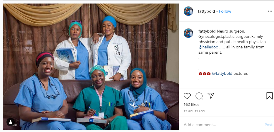 See Photo Of Nigerian 'Sisters' Who Are All Doctors