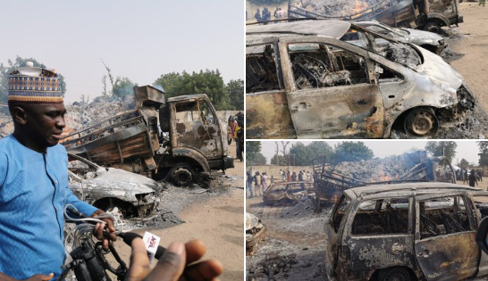Boko Haram Members Allegedly Kill 9 Travelers, Abduct Many Others In Borno