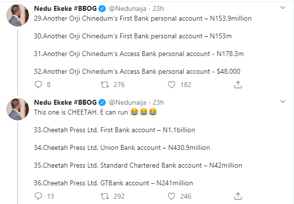 Former Governor T.A Orji And Son Quizzed By EFCC Over Alleged Theft Of Billions Of Naira...See Accounts Traced To Son And All The Money Inside 17