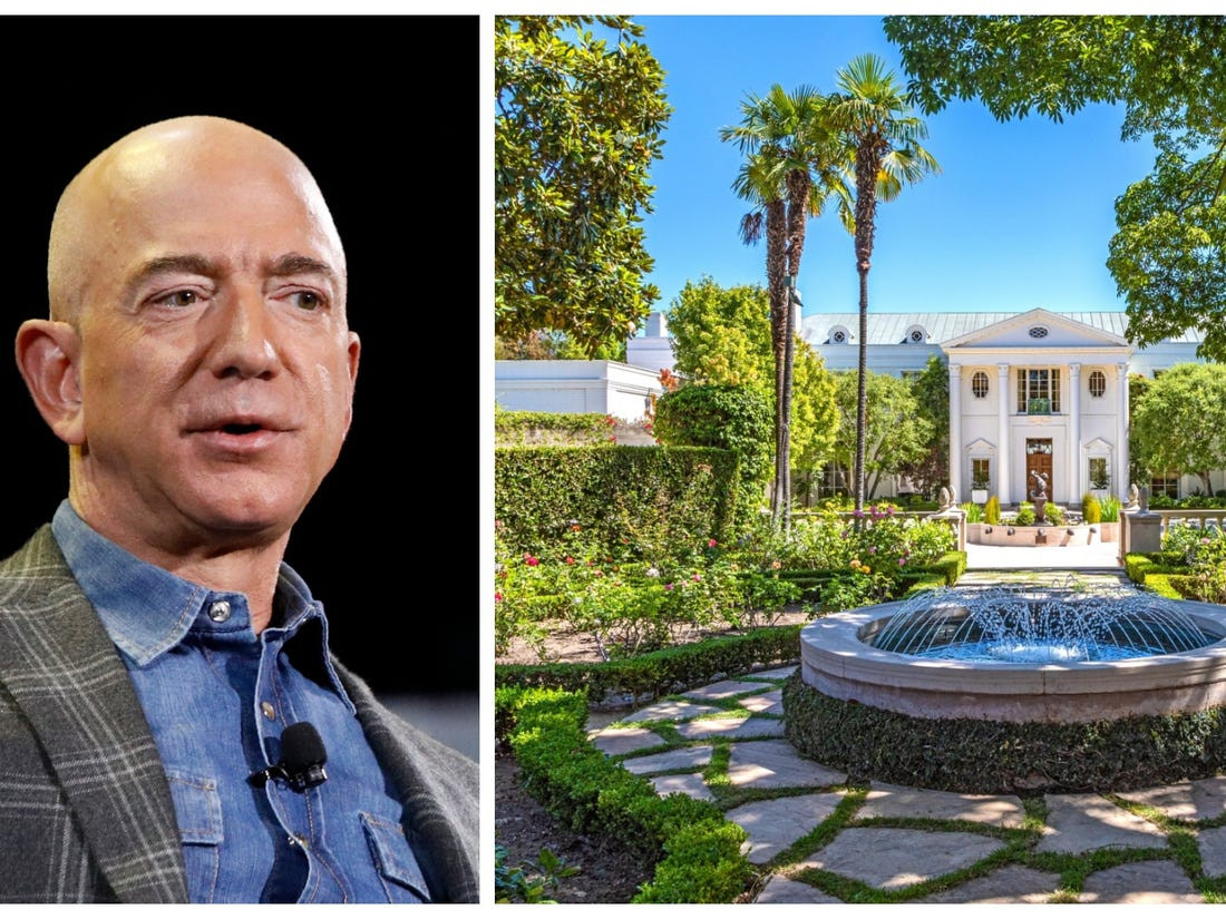 Jeff Bezos Acquires Mansion For Record $165 Million In Beverly Hills (Photos)