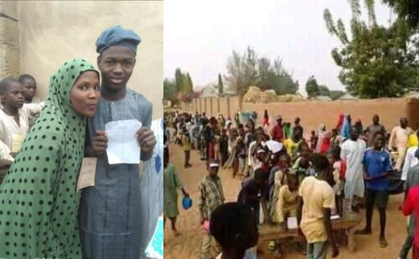 Two Bauchi Boys Who Are In Love With One Girl Contest In An Election (Photos)