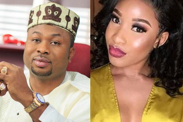 Churchill sues ex-wife Tonto Dikeh