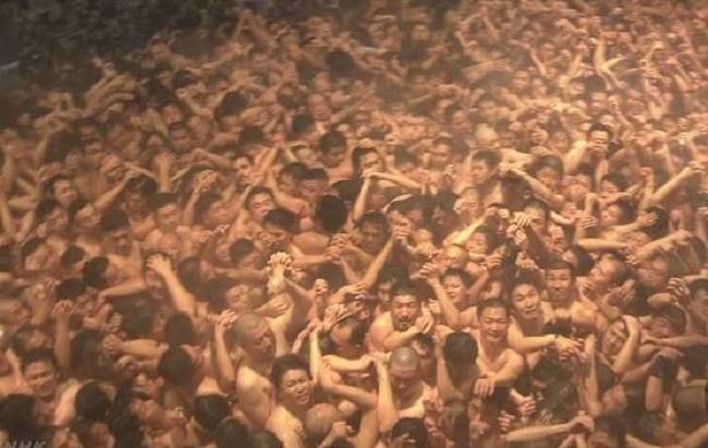 About 10,000 Men Assemble In Japan For Annual N•ked Festival (Photos)