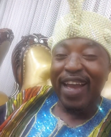 """""""It's Audio"""" — Oluwo of Iwo Rubbishes Reports Of His Suspension From The Osun State Traditional Rulers' Council"""