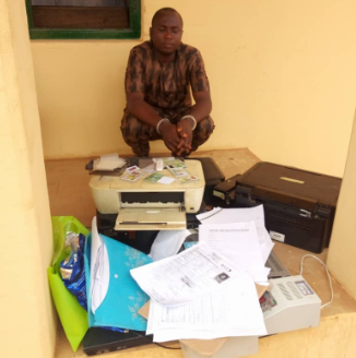 Young Man Arrested Over Forgery Of Lagos State Documents
