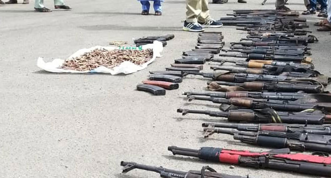 43 Rifles & 1,117 Ammunition Recovered From Bauchi Forest (Photos) 7