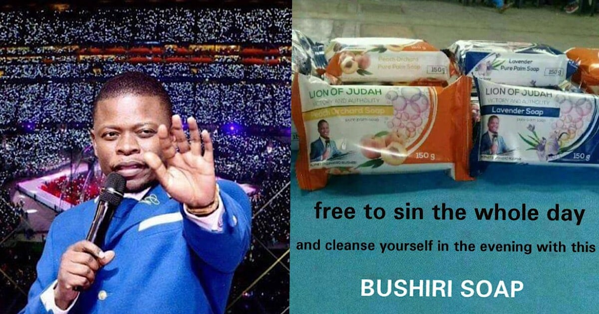 """Malawian """"Prophet"""" Reportedly Selling Soap That Wash Away Sins (Photo)"""