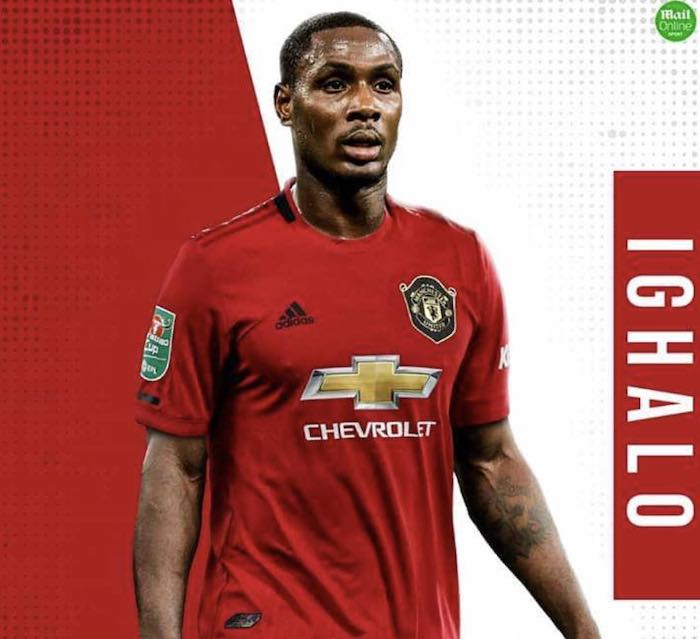 Manchester United Finally Unveils Ighalo's Shirt Number