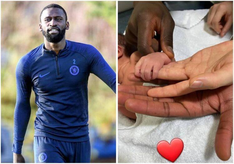 Antonio Rudiger Welcomes Baby Boy With Partner