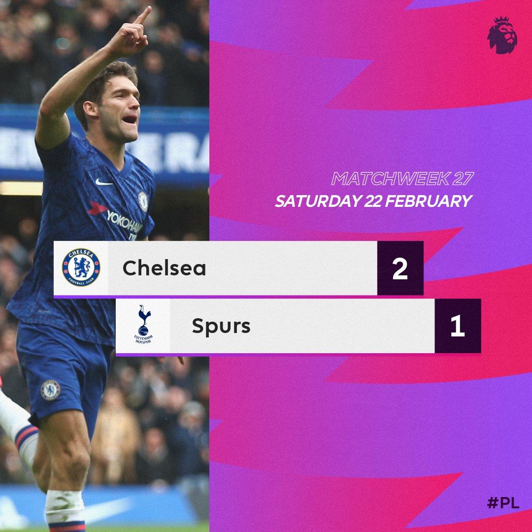 VIDEO: Chelsea 2 – 1 Tottenham — EPL Highlight