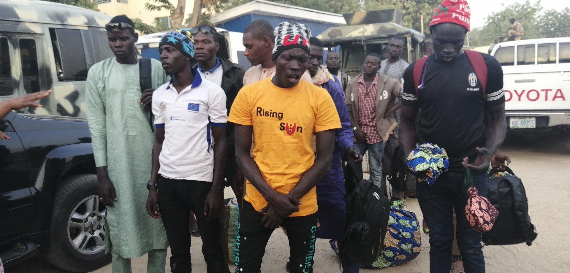 'Repentant' Boko Members Lands Maiduguri In Military Aircraft From Niger Republic