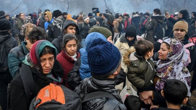 Syria War: Thousands Of Migrants Have Crossed To EU - Turkey