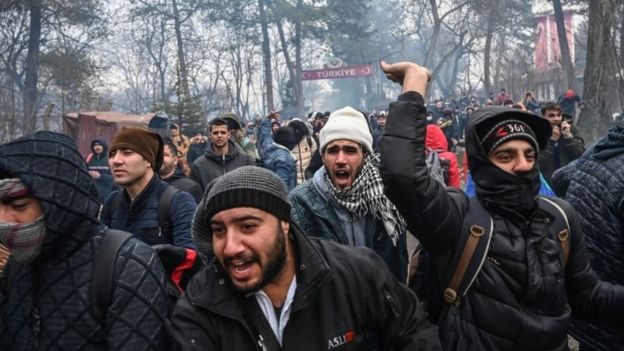 Syria War: Thousands Of Migrants Have Crossed To Europe - Turkey 1
