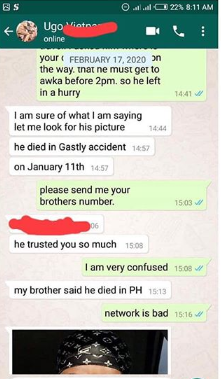 OMG! Nigerian Man Shares Story Of How He Met A Friend Who Died A Month Ago 23