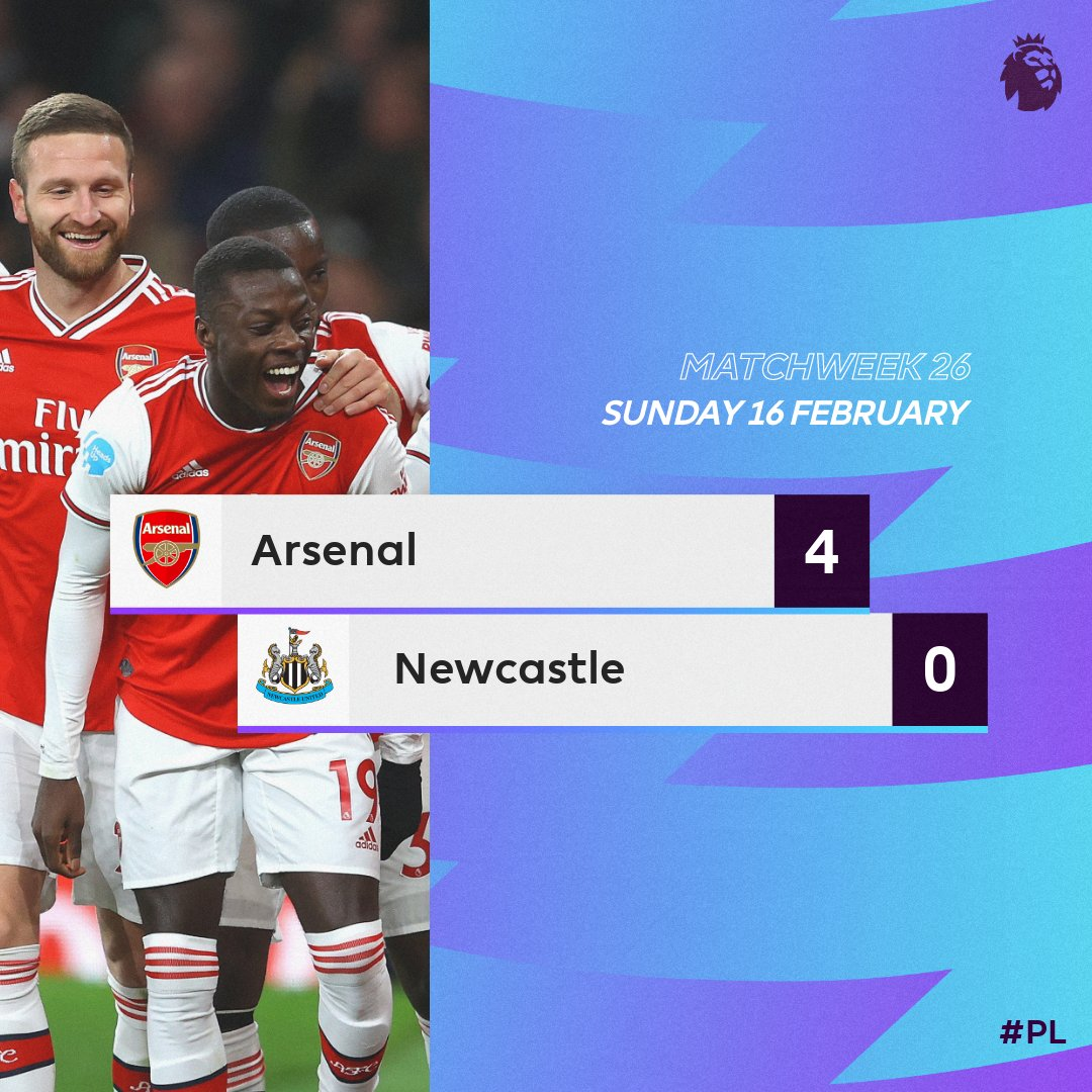 VIDEO: Arsenal 4 – 0 Newcastle — Premier League Highlight