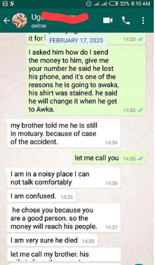 OMG! Nigerian Man Shares Story Of How He Met A Friend Who Died A Month Ago 22
