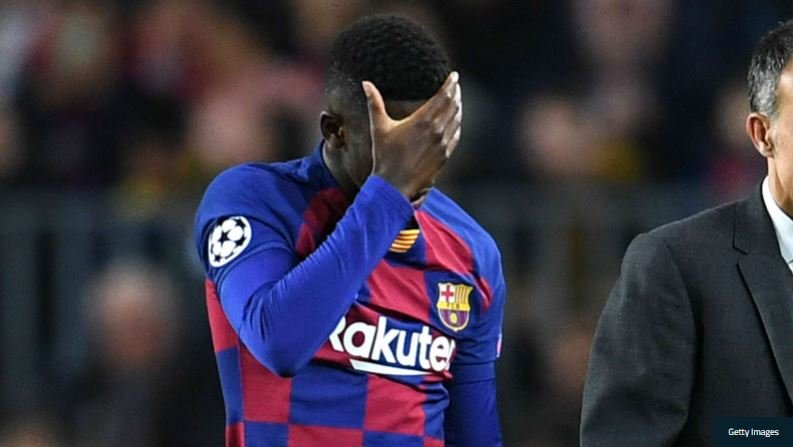 Dembele To Miss Rest Of The Season Over Injury