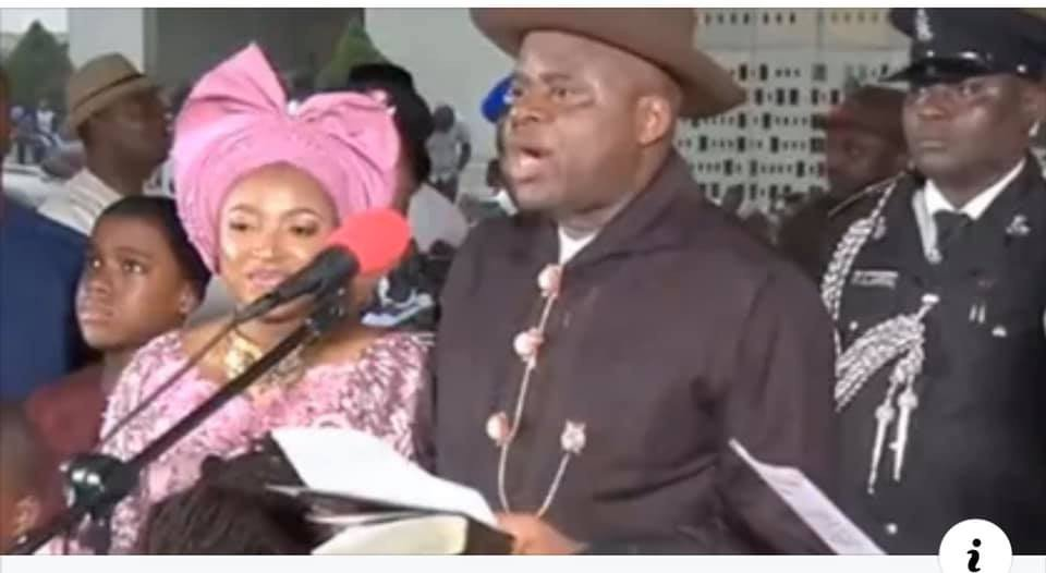 Duoyo Diri Sworn-In As Bayelsa State Governor