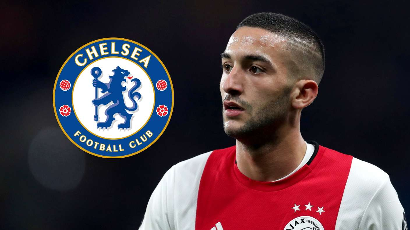 Ajax's Ziyech To Join Chelsea On July 1 In €40m Deal