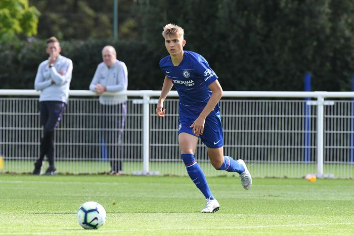 Chelsea Extends Striker George Nunn's Contract