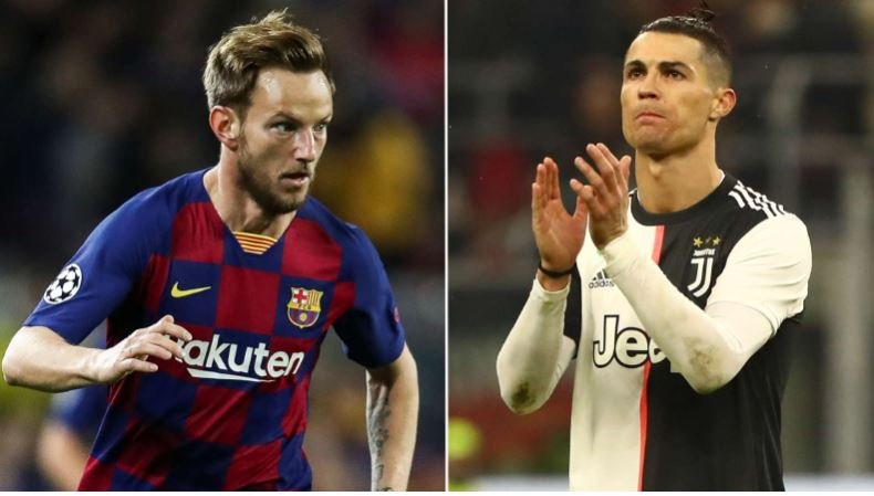 'I Want To Play With Ronaldo In The Future'- Rakitic