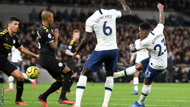 VIDEO: Tottenham 2 – 0 Man City — EPL Highlight