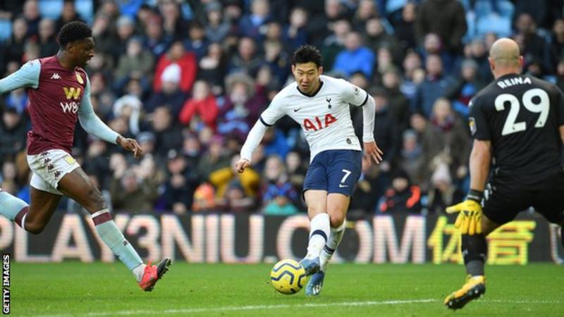 Aston Villa 2 – 3 Tottenham