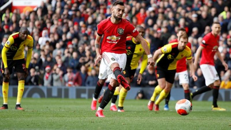VIDEO: Man United 3 – 0 Watford — EPL Highlight