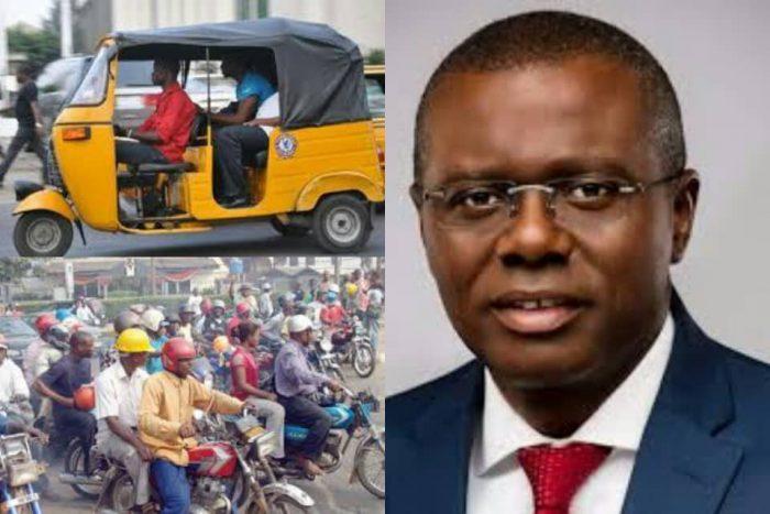 Lawyer Sues Lagos State Govt. Over Okada Ban