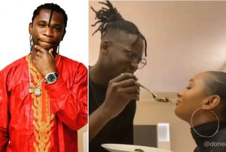 'I Need Your Native Doctor' — Speed Darlington Tells Mr Eazi Over His Affair With Temi Otedola