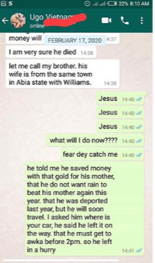 OMG! Nigerian Man Shares Story Of How He Met A Friend Who Died A Month Ago 21