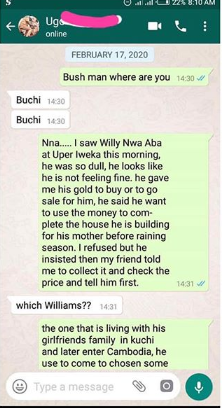 OMG! Nigerian Man Shares Story Of How He Met A Friend Who Died A Month Ago 19