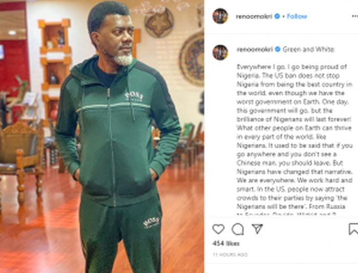 """Nigeria Is The Best Country In The World"" – Reno Omokri"