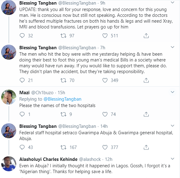 Lady Shares Her Sad Experience At Different Hospitals Where She Rushed A Dying Man To In Abuja 12
