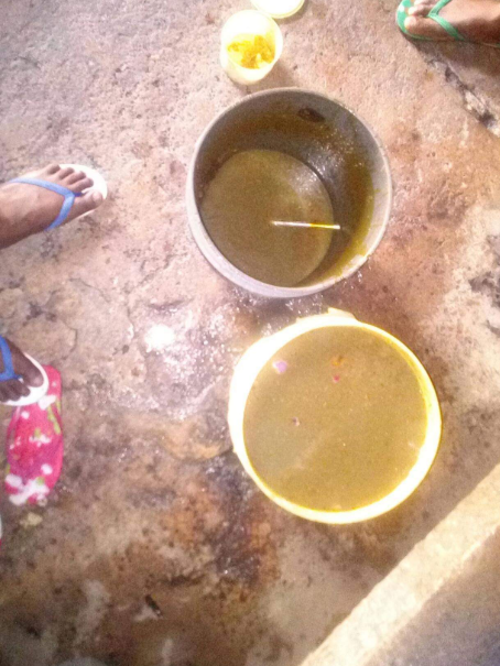 TOO BAD! See Poor Watery Soup Allegedly Served To Inmates In Kaduna Prison (Photos) 1