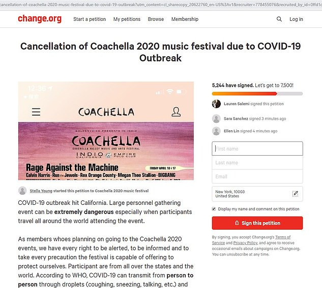 Coronavirus: Coachella Reportedly Postponed Till October
